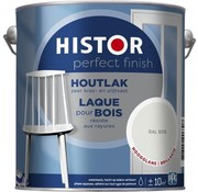 Histor Histor Perfect Finish houtlak hoogglans RAL 9016 2,5 liter