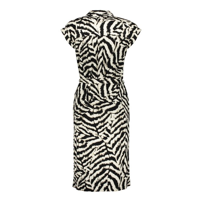 DRESS ZEBRA BELT 07407-20 BLACK