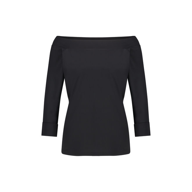 STUDIO ANNELOES DOLLY SHIRT 04729 BLACK