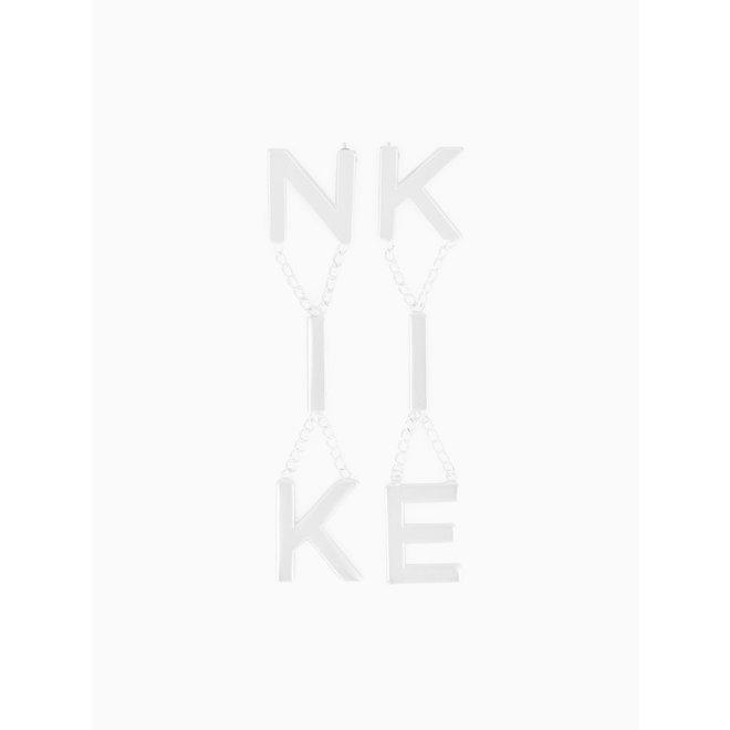 NIKKIE EARRINGS N 9-008 2004 SILVER