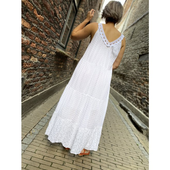 DRESS IBIZA WHITE LONG