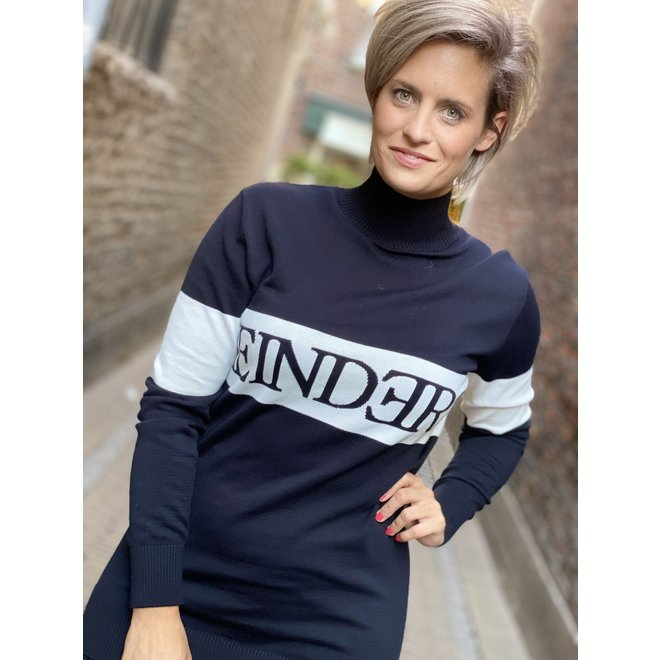 W1105 REINDERS SWEATER TRUE BLACK