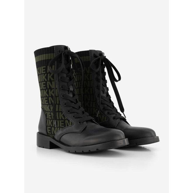 DIORA JACQUARD BOOTS N 9-338 2005 BLACK