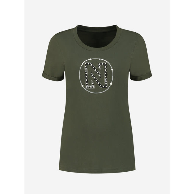 ROUND PEARLS T-SHIRT N 6-322 2005 NIGHT FOREST