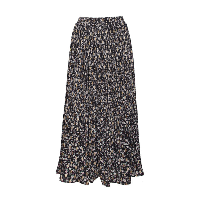 SKIRT 20790 BLACK/GOLD
