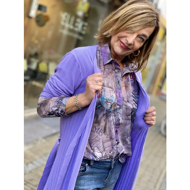BLOUSE 0820BL GRAFFITI MIX