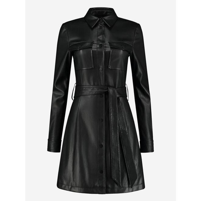 ELINE DRESS N5-652 2101 BLACK