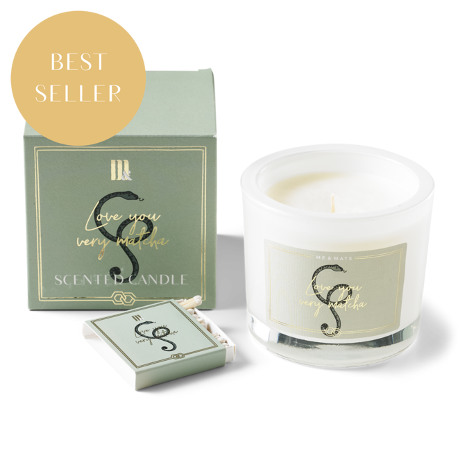 LUXURY SCENTED CANDLE VERY MATCHA