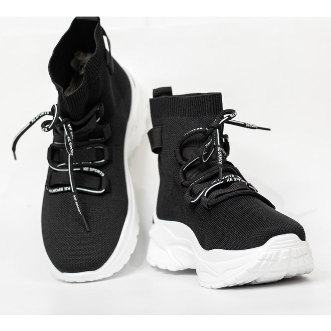 ANCLE SNEAKER AD-270 BLACK