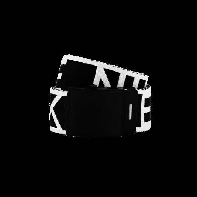 BINTY BELT N 9-765 BLACK/WHITE