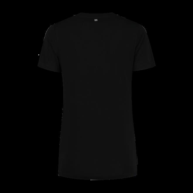 NIKKIE TAPE T-SHIRT N 6-952 2102 BLACK
