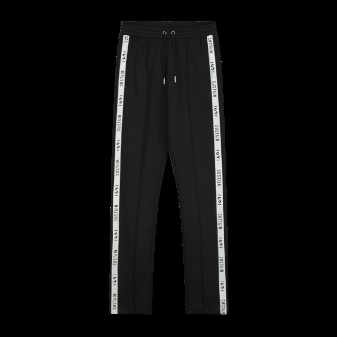 S 2-292 2102 TAPE TRACK PANTS  BLACK