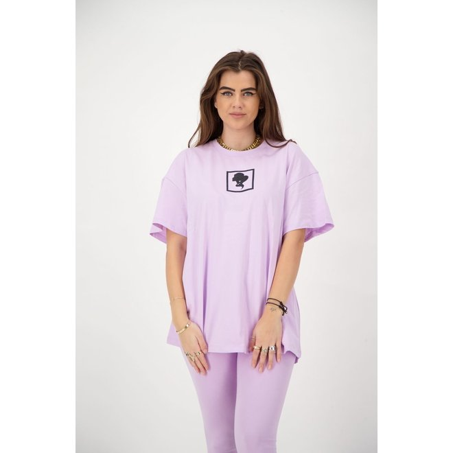 HEADLOGO SQUARE T-SHIRT REINDERS W2331 ORCHID BLOOM