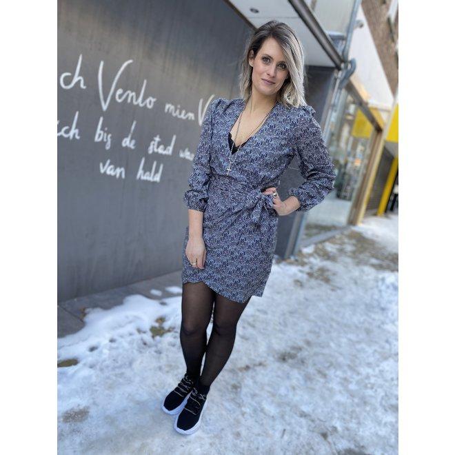 N 5-777 2102 FERYA DRESS BLACK