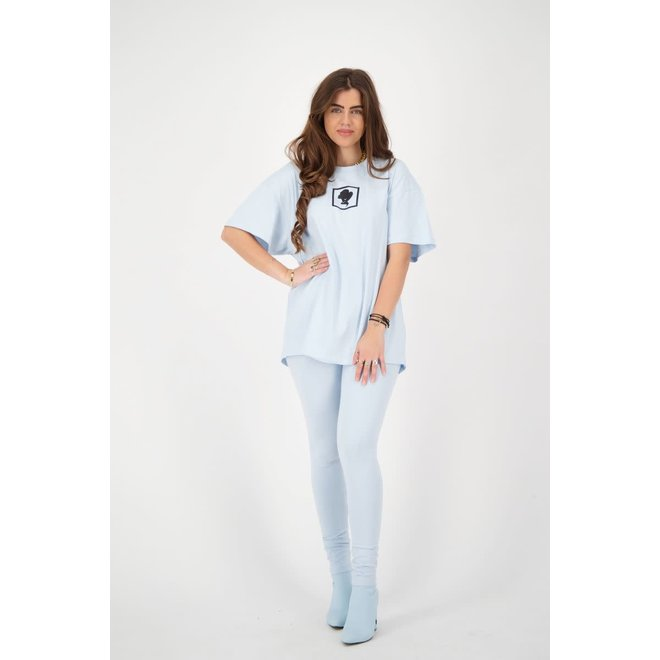 SQUARE T-SHIRT REINDERS W2331 BABY BLUE