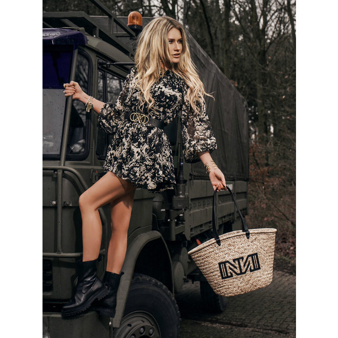 FAY-LEE DRESS N 5-804 2102 BLACK