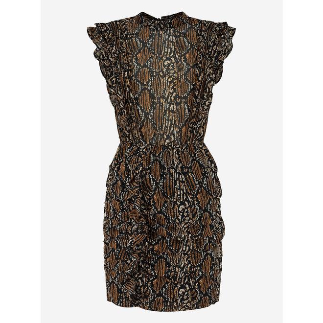 REILLY DRESS N-5-884 2102 BROWN