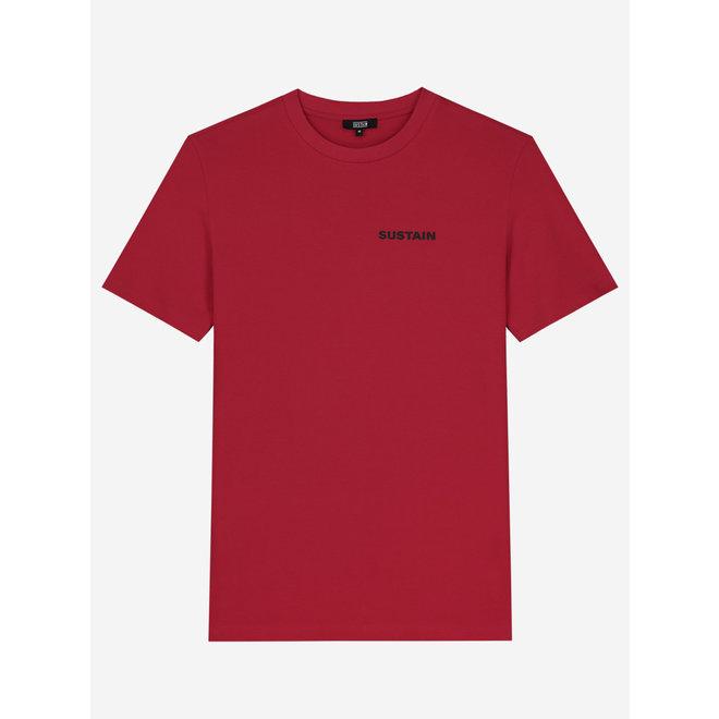 S 8-313 2102 WORLDS REGULAR T-SHIRT JESTER RED