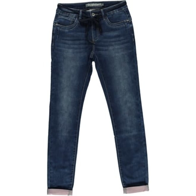 JEANS 11013-10 DARK BLUE DENIM 2103