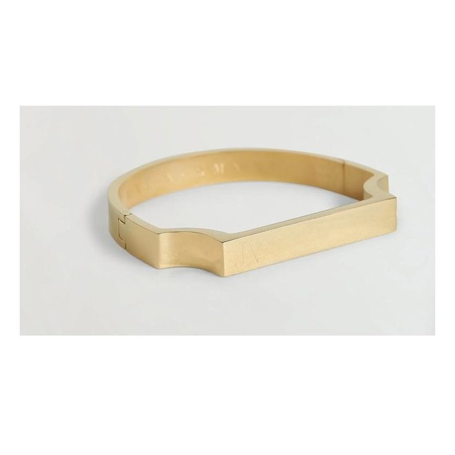 MACIE BANGLE ANNIVERSARY JV-1000-1706 GOLD