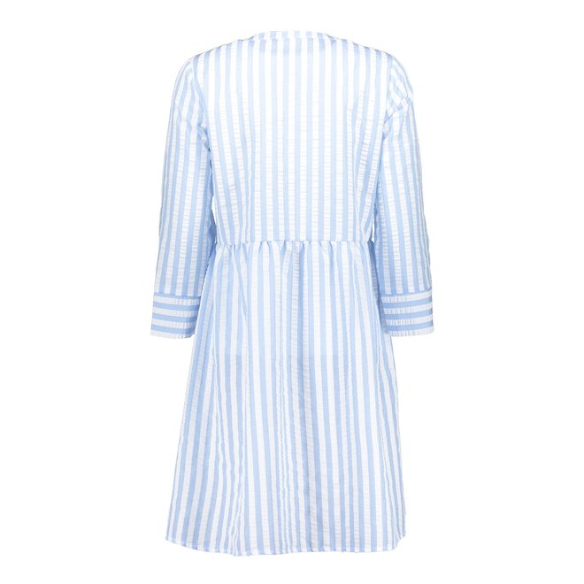 DRESS SEERSUCKER STRIPE 17072-12 LIGHT BLUE/WHITE 2103