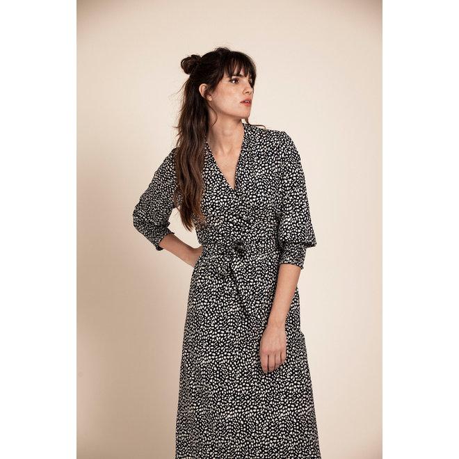 GIGI SMALL SPOT DRESS 05665 BLUE