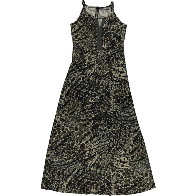 DRESS 17470-20 BLACK/KIT COMBI 2104