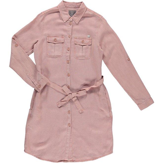 DRESS 17003-10 OLD PINK