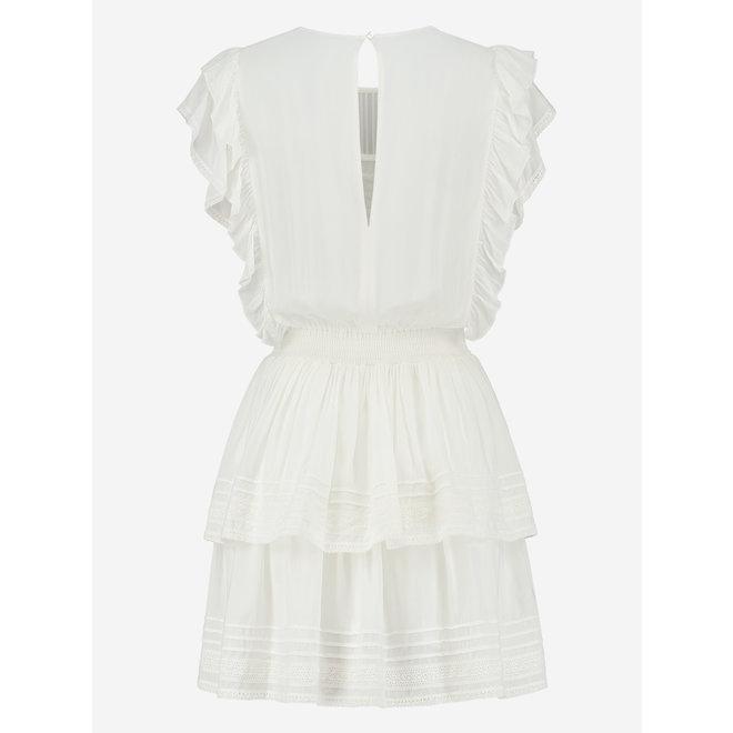 SAMIYA DRESS N 5-978 2103 WHITE