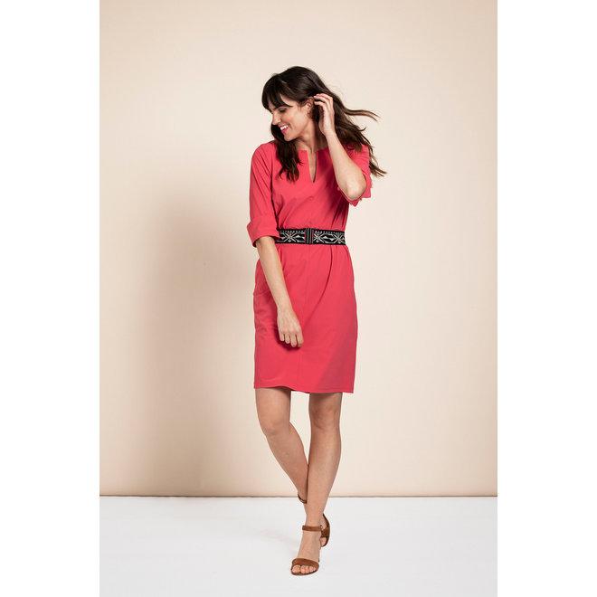 CARO DRESS 05701 RASPBERRY