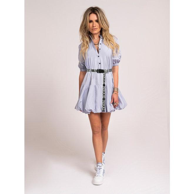 FLEUR DRESS N 5-118 2104 ICE BLUE