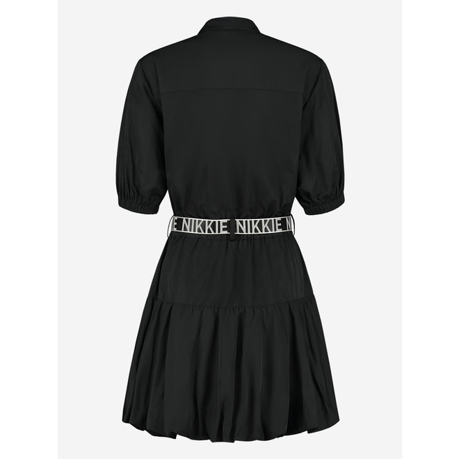 FLEUR DRESS N 5-118 2104 BLACK