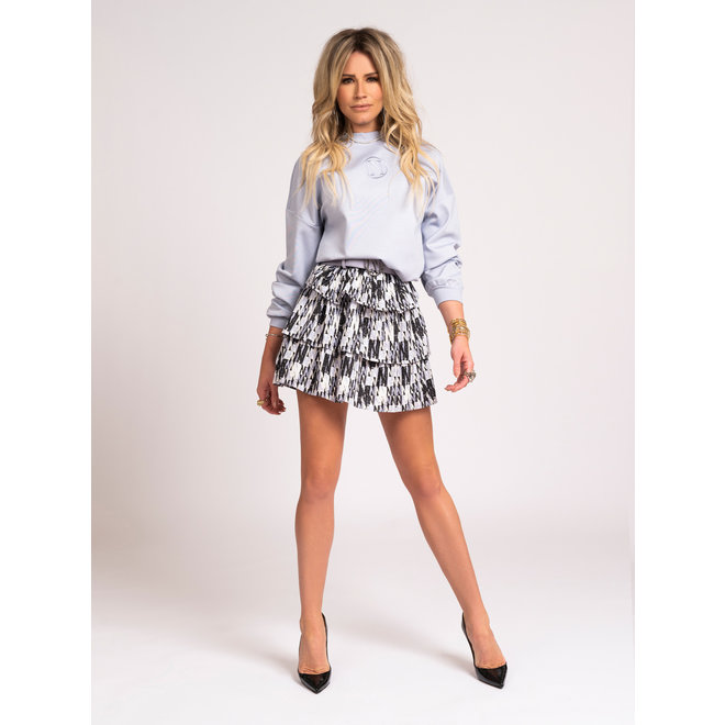 NIKKIE LOGO RUFFLE SKIRT AS PICTURE