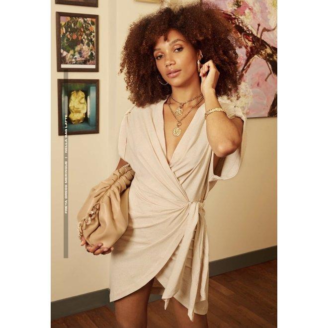 FREYA DRESS JV-2105-1401 CREAM