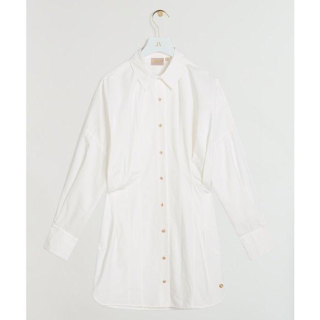 PATTY BLOUSE DRESS JV-2105-0101 WHISPER WHITE