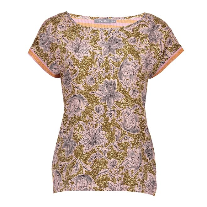 TOP 13370-20 ARMY/SAND COMBI 2105