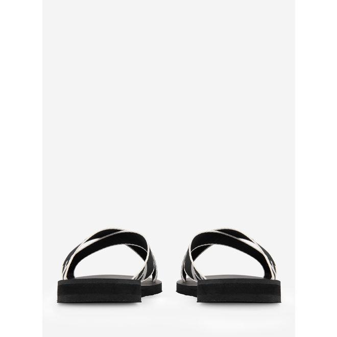 WIONA LOGO SANDALS N 9-973 2103 BLACK