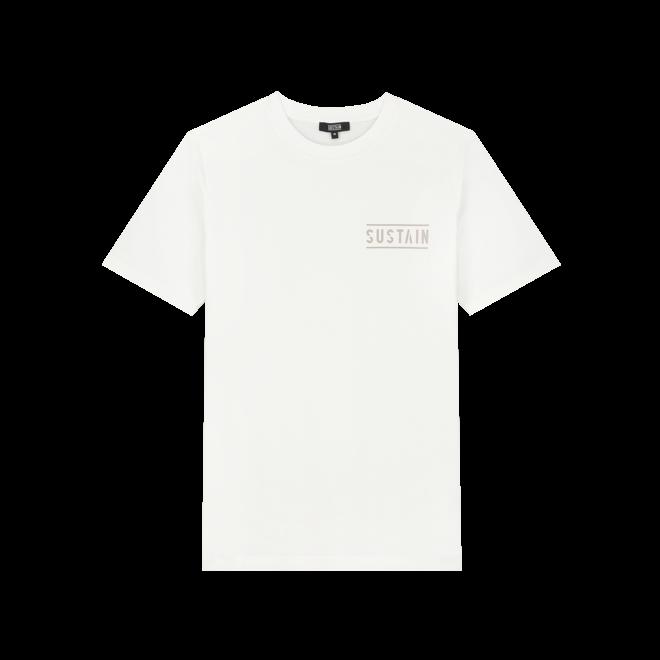BACK LOGO REGULAR T-SHIRT S 8-242 2104 OFF WHITE