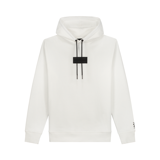 HD PATCH LOOS FIT HOODIE S 8-359 2104 OFF WHITE
