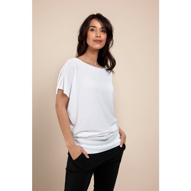SUMMER BATWING PULLOVER 05807 WHITE