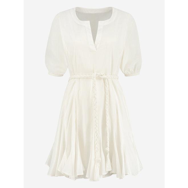RUYA DRESS N 5-070 2104 WHITE