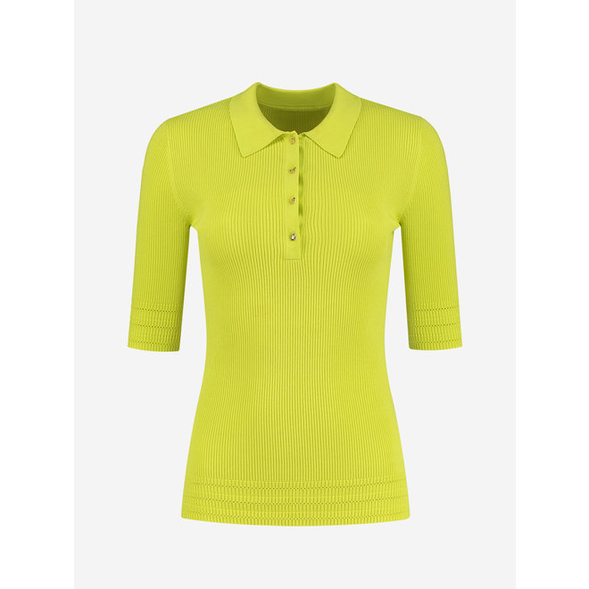 GABY POLO TOP N 7-150 2104 POISON GREEN
