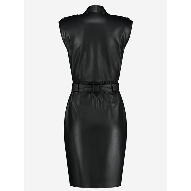MAGNO TRENCH DRESS FH 5-200 2104 BLACK