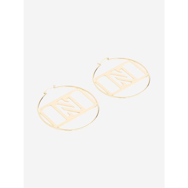 LORE EARRINGS N 9-052 2104 GOLD