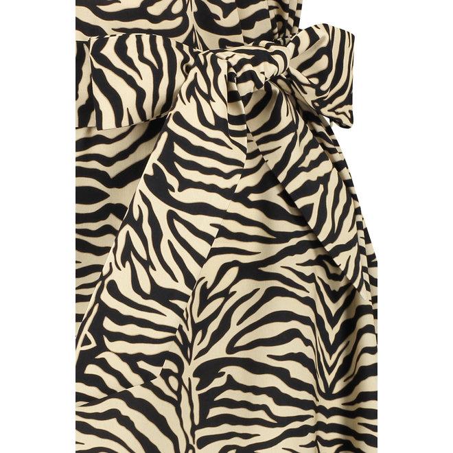 SIGRID ANIMAL DRESS 05917 SAHARA BLACK