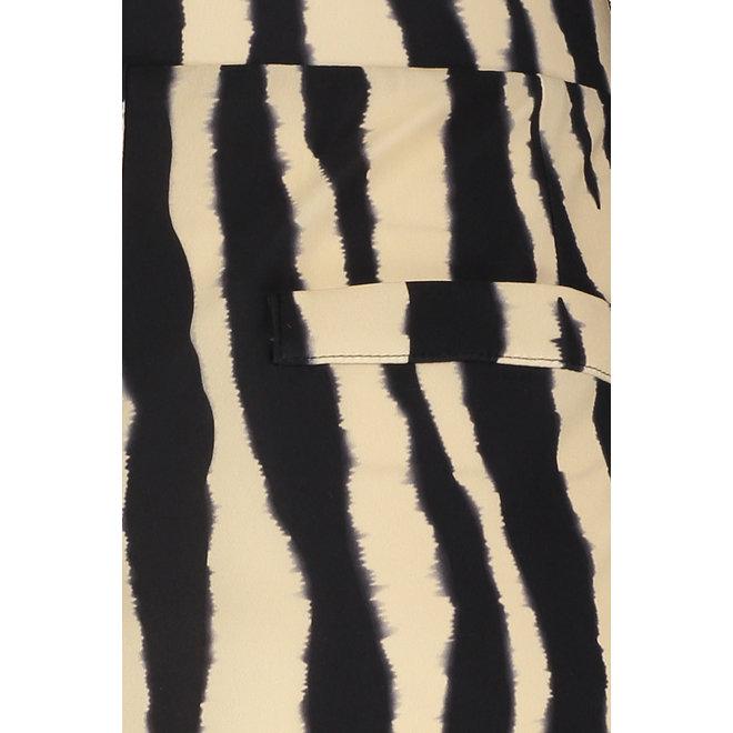 ESMERALDA STRIPE TROUSERS 05928 SAHARA/BLACK