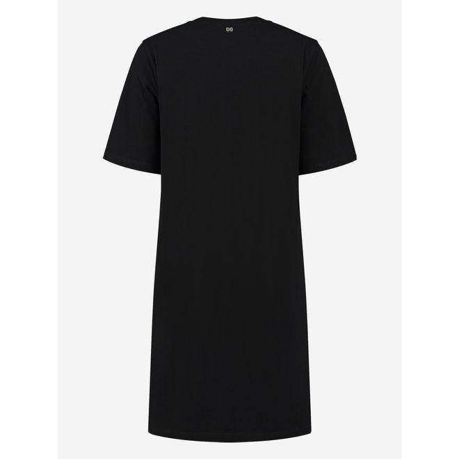 EAGLE BLING T-DRESS N 5-378 2105 BLACK