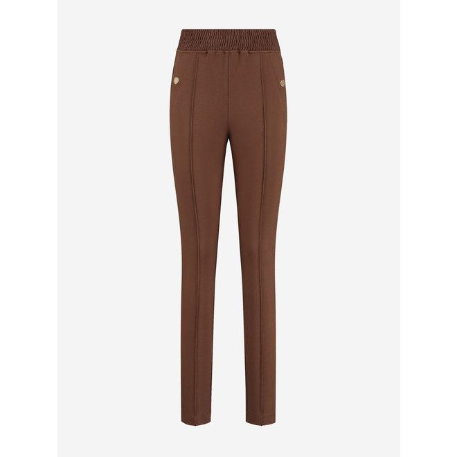 PUNTA CLASSIC PANTS N 2-328 2105 DARK BROWN