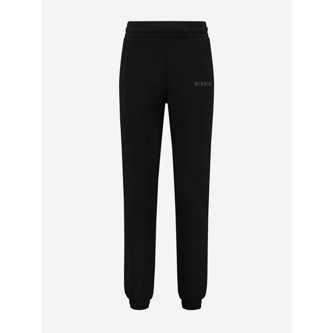 SWEAT PANTS N 2-371 2105 BLACK