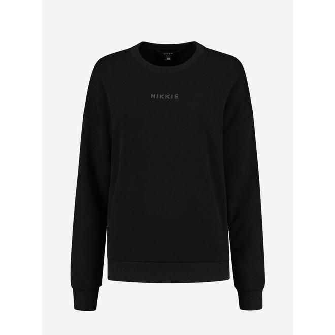 SWEATER N 8-370 2105 BLACK